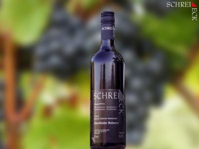 2018 er Dornfelder Rotwein halbtrocken