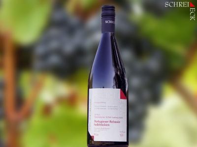 2019 er Portugieser Rotwein halbtrocken